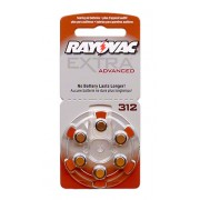 Baterii auditive zinc-aer Rayovac Extra Advanced 312