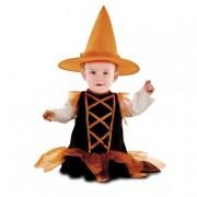 Viving Costumes S.L Disfarce InfantilBruxinha Laranjinha 7-12 meses