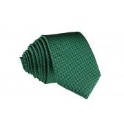 Pánská zelená vzorovaná slim kravata - 6 cm