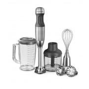 KitchenAid Stabmixer 5 Geschwindigkeitsstufen Silber Metall