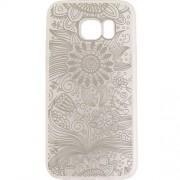 Husa Protectie Spate YUPPI LOVE TECH Spirit Natural Argintiu pentru Samsung Galaxy S7 Edge