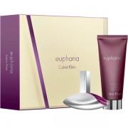 Calvin Klein Euphoria Комплект (EDP 30ml + Shower Cream 100ml) за Жени