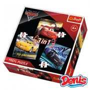 Trefl Puzzle 3 u 1 Cars (12-348200)