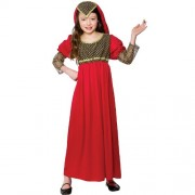 Wicked Costumes (M) Girls Princess Juliet Costume for Fairytales Fancy Dress Childrens Kids Childs