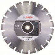 Диск диамантен за рязане Standard for Asphalt, 350 x 20/25,40 x 3,2 x 10 mm, 1 бр./оп., 2608602625, BOSCH