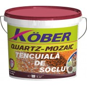 Tencuiala mozaicata soclu Buntsteinputz 25 kg - 69 culori Kober, V802