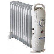 Calorifer electric Adler MS 7806, termostat, 11 elemente, 1200W
