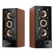 "Boxe Genius 2.0, RMS: 20W (2 x 10W), amplificare integrata, black&cherry wood, ""SP-HF800A II"" ""31730010402"" (include timbru verde 2 lei)"