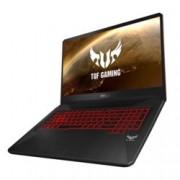 "Лаптоп Asus TUF FX705GD-EW090 (90NR0112-M02560), шестядрен Coffee Lake Intel Core i7-8750H 2.2/4.1 GHz, 17.3"" (43.94 cm) Full HD Anti-Glare Display & GF GTX 1050 4GB, (HDMI), 8GB DDR4, 1TB HDD, 2x USB 3.1, Free DOS, 2.70 kg"
