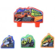 amscan Blaze and The Monster Machines Birthday Candle Set