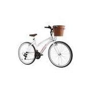 Bicicleta Track Bikes Aro 26 - 21 Marchas Week 200 Plus Lazer Branca