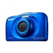 Nikon coolpix w100 - blu - fotocamera impermeabile compatta - 2 anni di garanzia