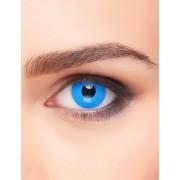 Vegaoo Blauwe ogen contactlenzen voor volwassenen One Size
