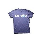 Camiseta T-Shirt Adulto Rock In Rio Eu Vou Azul Marinho - Dimona