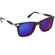 Arzonai Stone Boss MA-038-S5 Wayfarer Unisex Blue Sunglasses