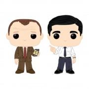 Pop! Vinyl The Office - Toby vs Michael 2-Pack Figure Pop! Vinyl