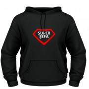 Super sefa - negru - Roly - XXL
