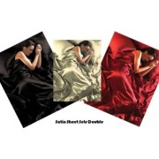 Lenzuola matrimoniali in Raso Luxury - Vari colori