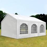 TOOLPORT Partytent 3x6m PE 240g/m² wit waterdicht Gartenzelt, Festzelt, Pavillon