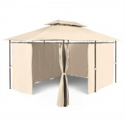 BLUMFELDT GRANDEZZA белведер парти палатка 3X4M стомана полиестер бежова (GDW6-Grandezza-BG)