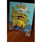 Teenage Mutant Ninja Turtles Puzzle (Splinter and Turtles in Van eating Pizza)