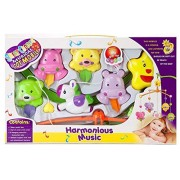 Funny Teddy Musical Cot Mobile 6 Pieces Rattle Set for Baby | Baby Shower Gifts /Newborn Gift