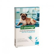 Advantage 100 Cão 4 a 10Kg - 4 Pipetas - Bayer