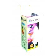 Bec LED C35 Galaxy tip lumanare 5W, 3000K, E14, 370lm, lumina calda