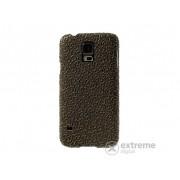 Husă din plastic Gigapack pentru Samsung Galaxy S V. (SM-G900), gold-negru (conform producătorului)