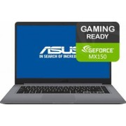 Ultrabook Asus VivoBook S510UN Intel Core Kaby Lake R (8th Gen) i7-8550U 1TB 8GB nVidia GeForce MX150 2GB FullHD Bonus Bundle Software + Games
