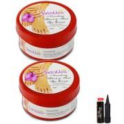 Nutriglow Nourshing Hand Foot Spa Cream Polishing Cream (Pack Of 2)