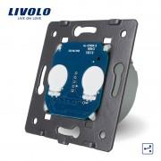 Modul intrerupator dublu cap scara / cruce touch LIVOLO