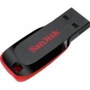 SanDisk Cruzer Blade 128 GB Pen Drive(Multicolor)