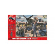 KIT CONSTRUCTIE AIRFIX SOLDATI WWII RAF GROUND CREW (4702)