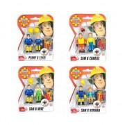 Figurine pompierii Sam si Mike, Simba