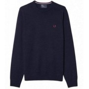 FRED PERRY Merino Wool Crew Neck (S)
