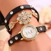 Armbandsur med kristaller