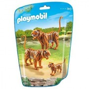 PLAYMOBIL 6645 - 2 Tiger mit Baby by PLAYMOBIL