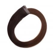 Rapunzel® Extensions Naturali Quick & Easy Original Liscio O2.3/5.0 Chocolate Brown Ombre 50 cm