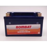 Baterie moto, scuter, atv 12V 7Ah curent pornire 70A AGM, Gel, RBG7 Rombat