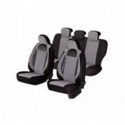 Set huse scaune auto Mazda 6 SMARTIC Editia Racing Insertii Piele Ecologica cu Textil 11 piese Gri/Negru