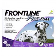 Frontline Plus (Purple) for Large Dogs 45-58lbs 6 Doses