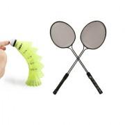 2 x Double Rod badminton racket / rackets / Badminton Racquet With Full Cover