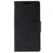 Capa tipo Carteira Mercury Goospery Fancy Diary para Sony Xperia Z5 - Preto
