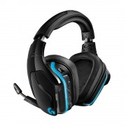 HEADPHONES, LOGITECH G935, Gaming, Microphone, Wireless/Wired, 7.1 Surround Lightsync, Black (981-000744)