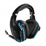 HEADPHONES, LOGITECH G935, Gaming, Microphone, Wireless/Wired, 7.1 Surround Lightsync, Black (981-000744)
