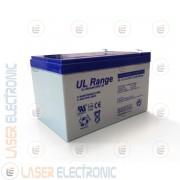 Batteria al Piombo AGM Professionale UL12-12 Ultracell UK 12V DC 12.0AH 12AH