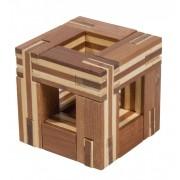 Fridolin Joc logic IQ din lemn bambus Magic frame