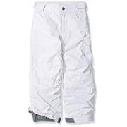Columbia Starchaser Peak II Pantalón para niña, Blanco, M