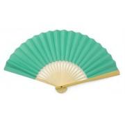 Tiffany Blue Paper Hand Fan